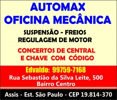 AUTOMAX OFICINA MECÂNICA