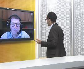 Afiliada da Rede Globo no Acre entrevista Dr. Éber Feltrim sobre Gestão em Saúde durante a pandemia