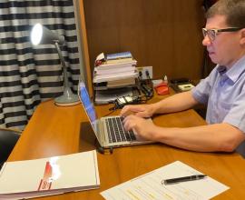 Dr. Éber Feltrim dá dicas de como manter a produtividade em Home Office para a TV Nube