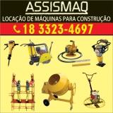 ASSISMAQ - LOCAÇÃO DE MÁQUINAS PARA CONSTRUÇÃO
